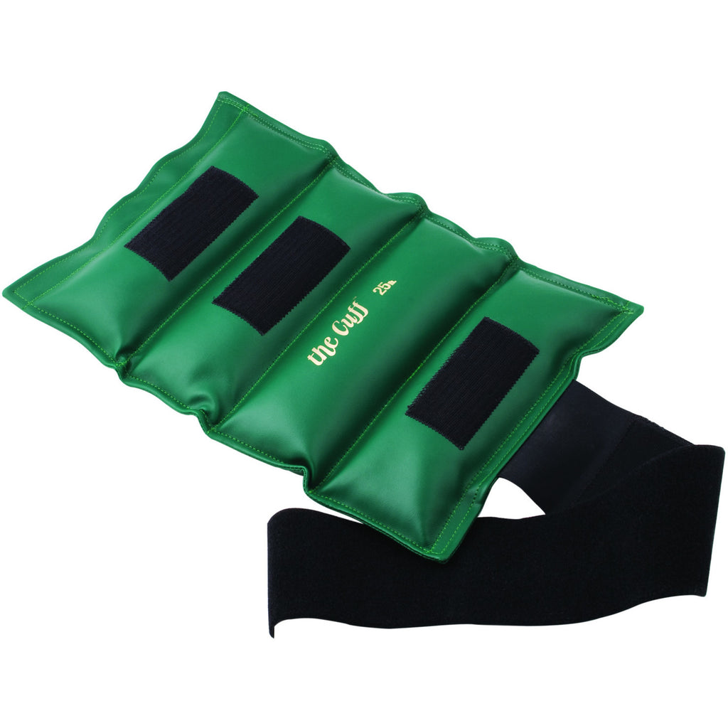 The Original Cuff® Ankle and Wrist Weight - 25 lb - Green