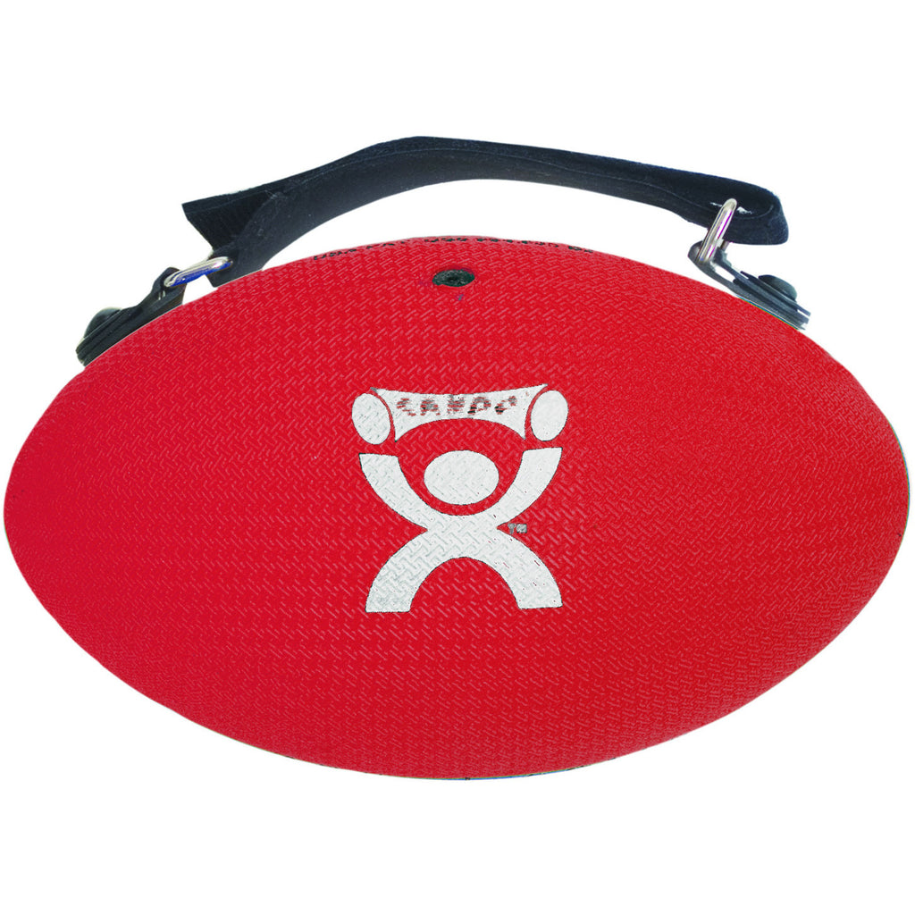 CanDo® Handy Grip™ weight ball - 3 lb - Red