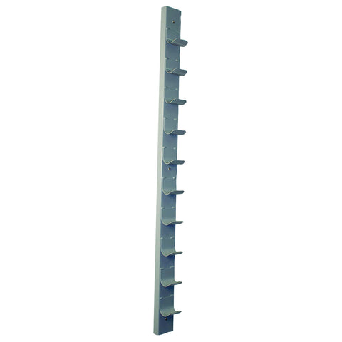 CanDo® Dumbbell - Wall Rack - 10 Dumbbell Capacity