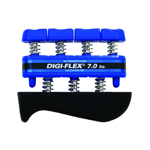 CanDo® Digi-Flex® hand exerciser - Blue, heavy - Finger (7.0 lb) / hand (23.0 lb)