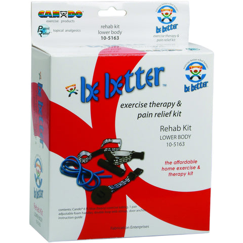 Be Better® rehab kit, lower body