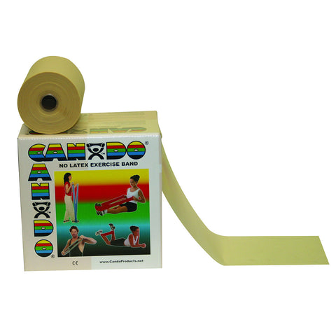 CanDo® Latex Free Exercise Band - 50 yard roll