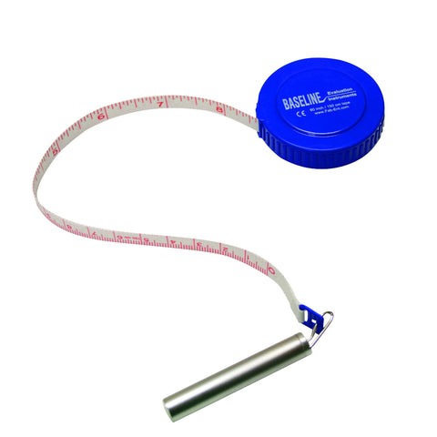 Baseline® Measurement Tape with Gulick Attachment, 120 inch, 25 each