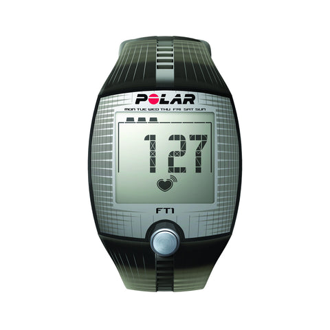 Heart Rate Monitor Watch - Polar® FT1 - Black