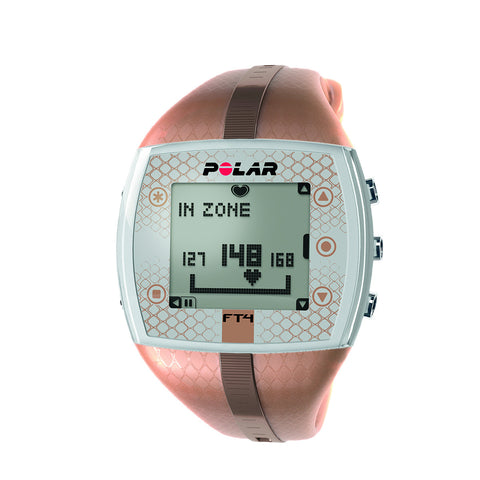 Heart Rate Monitor Watch - Polar® FT4F - Bronze/Bronze - for Female