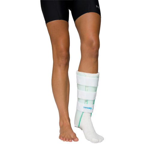 Air Stirrup® Leg Brace with Anterior panel, small, right