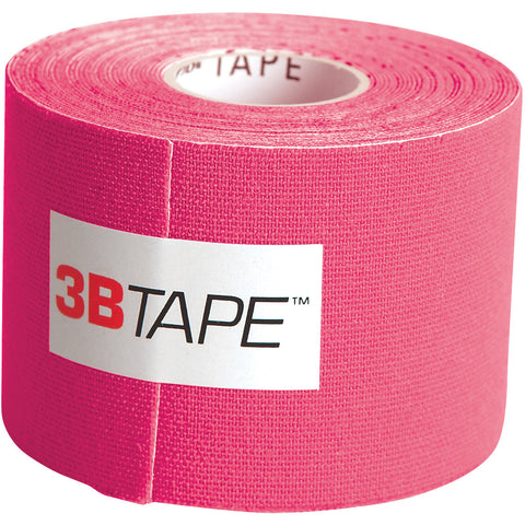 "3B Tape, 2"" x 16.5 ft, pink, latex-free"