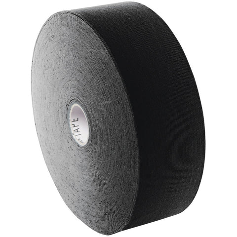 "3B Tape bulk roll, 2"" x 103 ft, black, latex-free"
