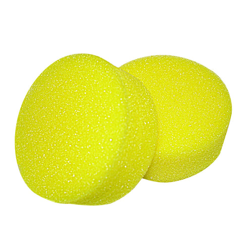 Back scrubber, accessory, replacement sponges only, 2 each