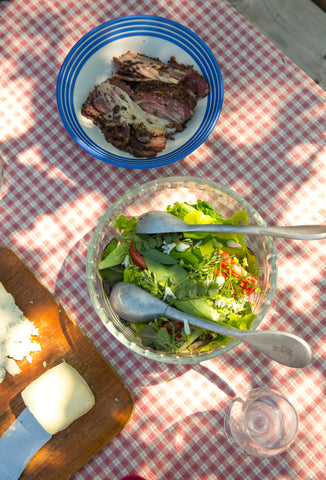 Homemade Pastrami at Find and Foster, Devon with Wild Wine School