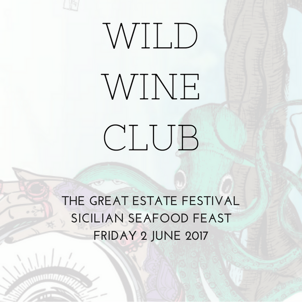 Great Estate Festival // Friday 2 June // Sicilian Fish Feast