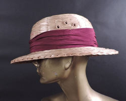 ANTIQUE DEADSTOCK 1904 STRAW SAFARI PITH HAT HELMET W LABELS MINT