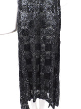 ROCK HEAVY 1920'S BLACK PATCHWORK BEADED FLAPPER 1920'S DRESS  4