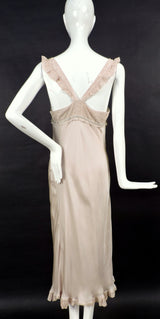 CUSTOM MADE 1930'S STYLE SILK DRESS / NIGHT GOWN FROM BOARDWALK EMPIRE SERIES 5