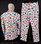 SAY NO TO DRUGS - VINTAGE CUSTOM MADE 2 PIECE MEN'S SUIT 4