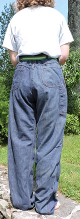 VINTAGE 1970'S MEN'S DENIM PANTS SIZE 34 INCH WAIST 4