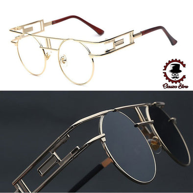 Unique Frame Steampunk Sunglasses-glasses-Classica Store