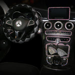 New Style Crystal Steering Wheel Cover