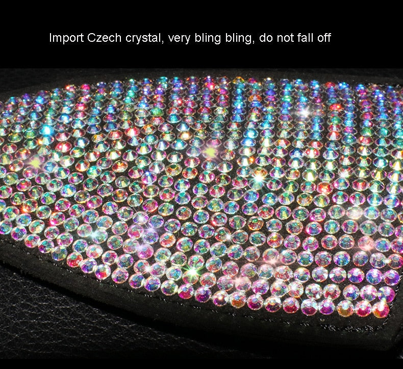 Crystal Car Key Case