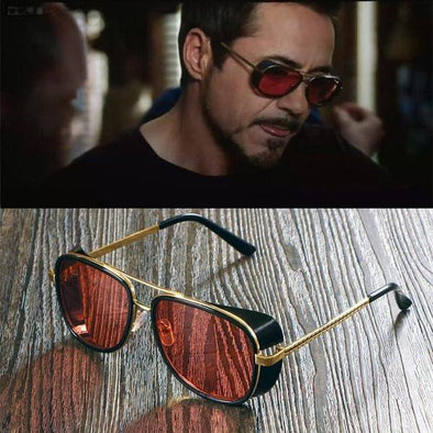 Sunglasses Men Tony Stark Superstar Fashion-Classica Store