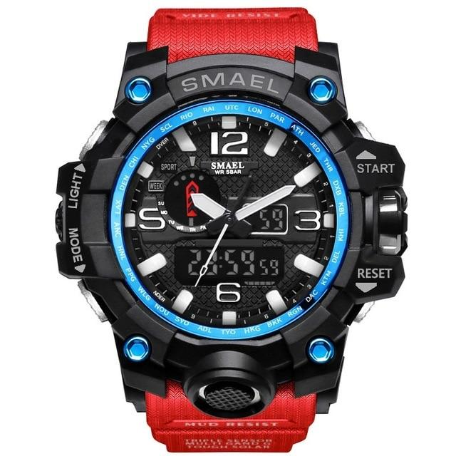 SMAEL Watches Analog Digital LED