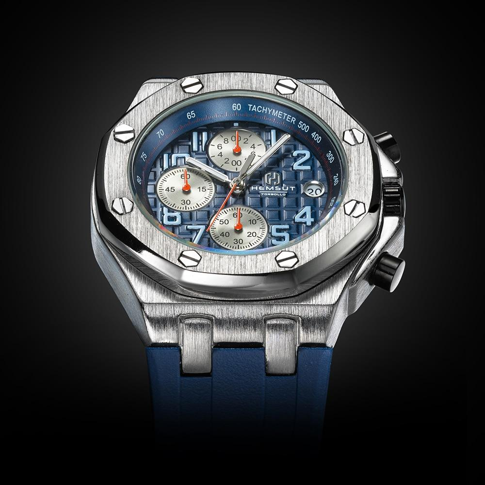 Marco Chronograph Steel Watch