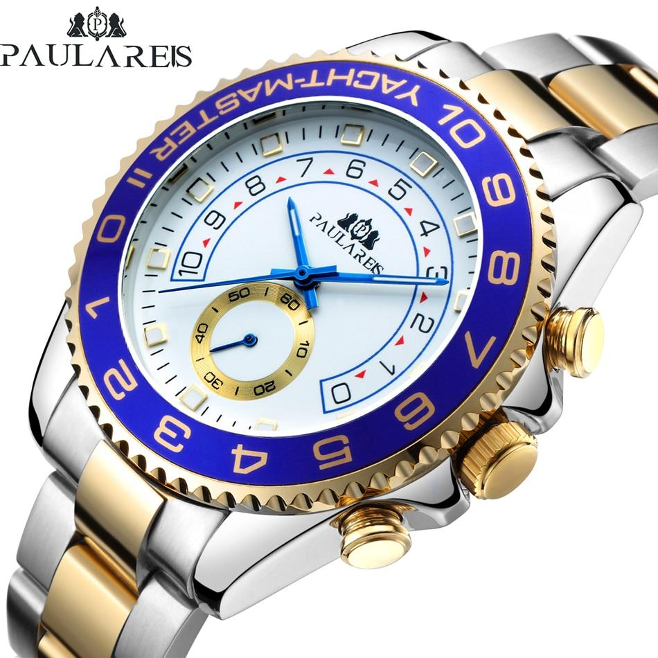 Sailor Mechanical Stainless Steel Watch