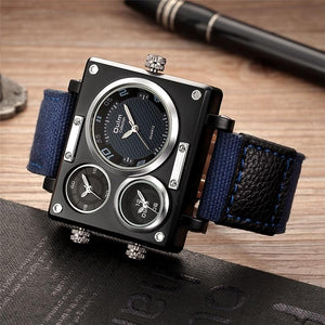 Oulm Square Watch