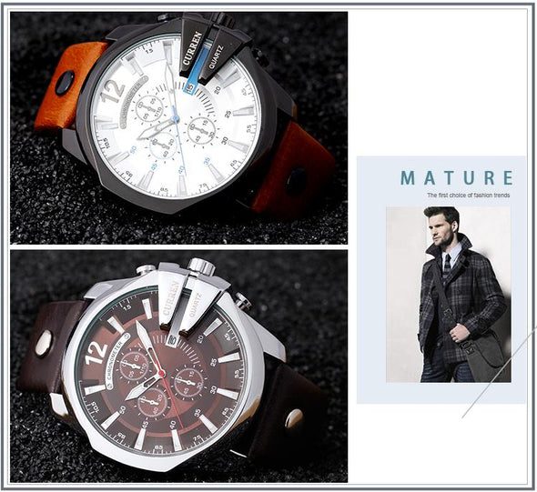 Luxury Brand CURREN Watches-Classica Store