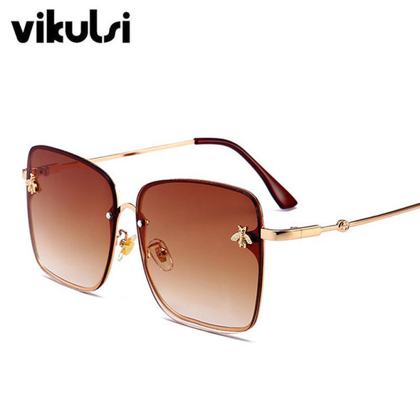 Erasur Retro Square Sunglasses