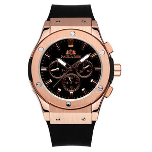 Paulareis Brown Leather Watch
