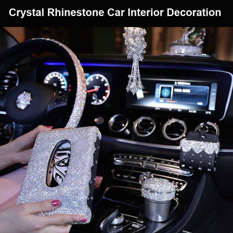 Luxury Diamond Crystal Car Accessories