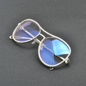 Luxury Crystal Diamond Glasses