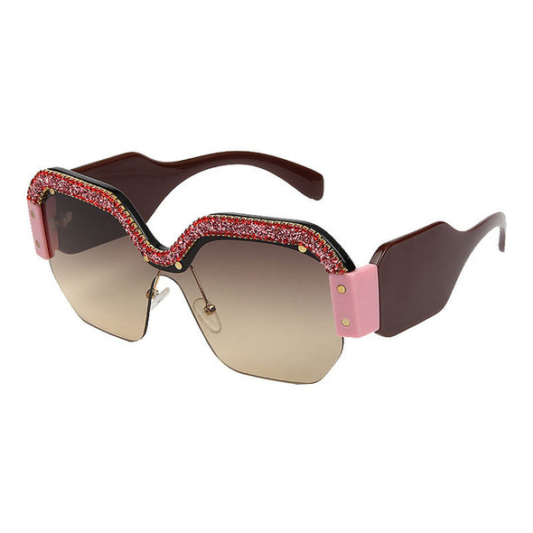 Wiki Crystal Sunglasses