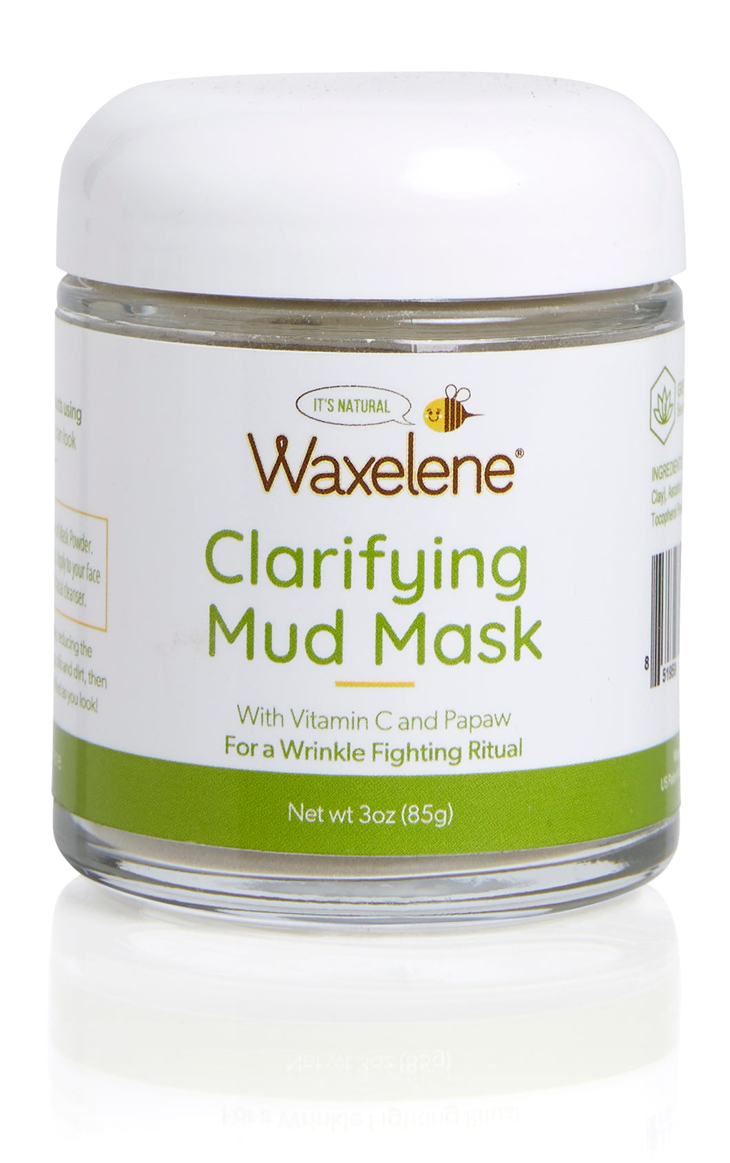 Clarifying Mud Mask - 3oz Dry Blend - Makes 36+ Masks!