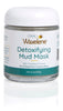 Load image into Gallery viewer, Clay Mud Mask in glass jar, detoxifying mud mask, with activated carbon, for a deep pore cleanse, waxelene