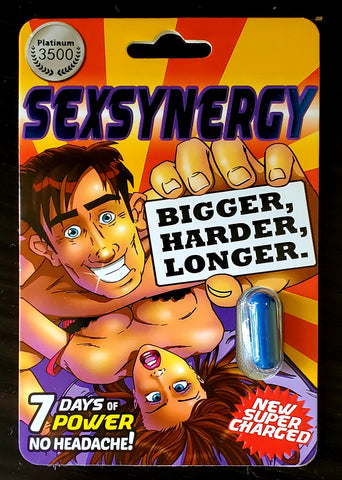 Sexsynergy - Platinum 3500 - 1ct - B.B. USA Online Store