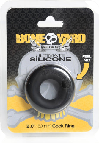 Boneyard - Ultimate Silicone Ring - Black - B.B. USA Online Store