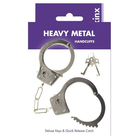 Kink - Heavy Metal Handcuffs - B.B. USA Online Store