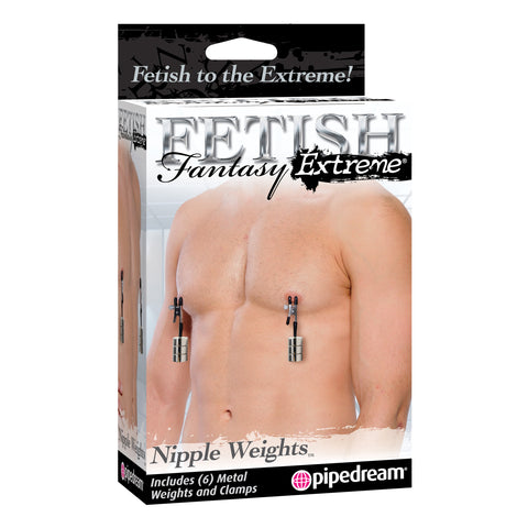Fetish Fantasy Extreme Nipple Weights - B.B. USA Online Store