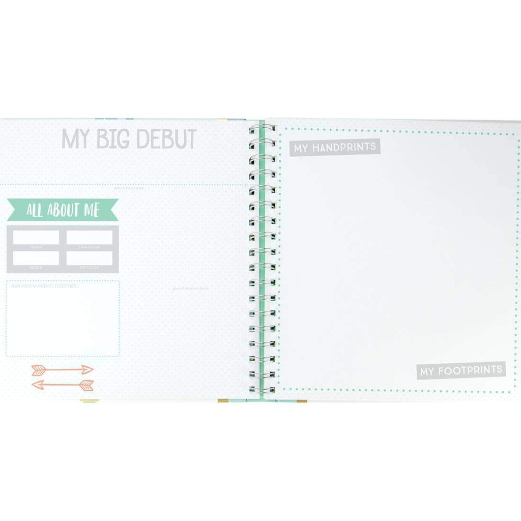 Cactus Baby Memory Book & Sticker Set