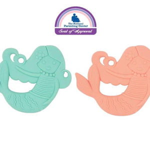 mermaid silicone teether set