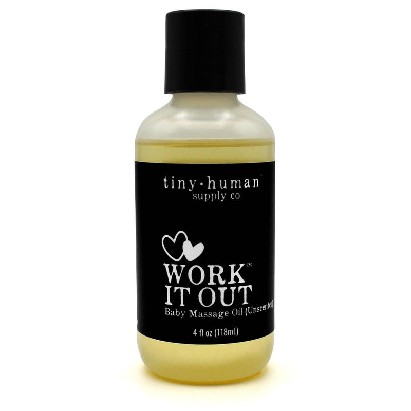 Work It Out Baby Massage Oil
