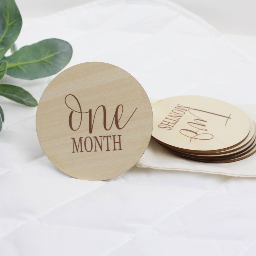 Simple Monthly Milestones Set