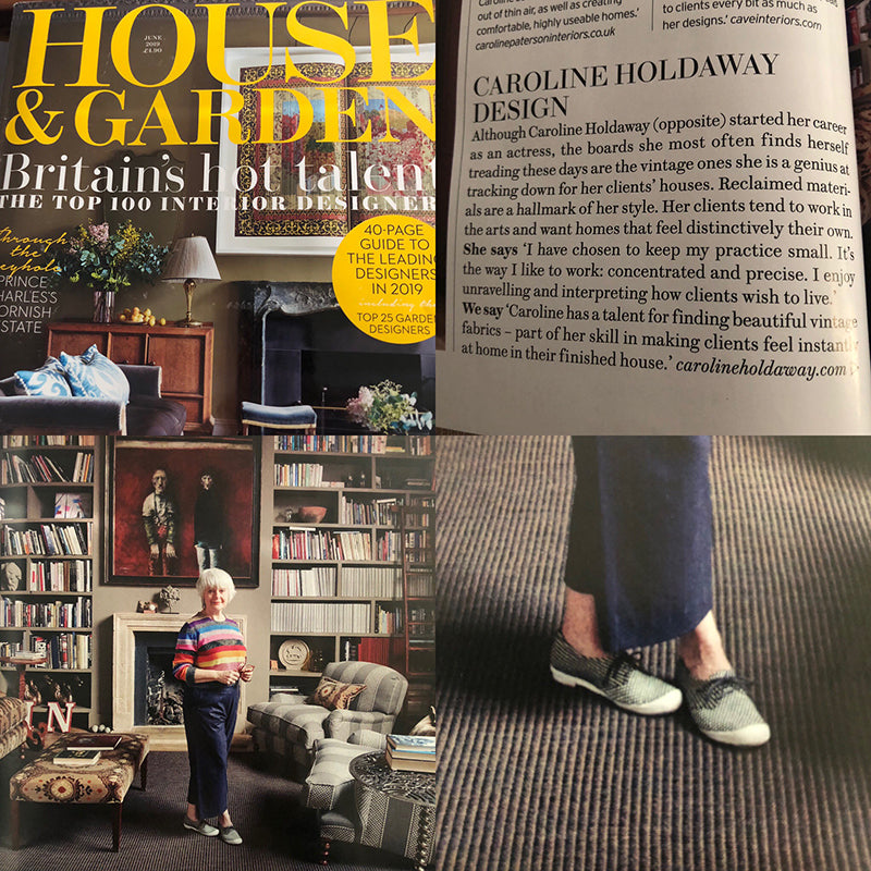 House & Garden Magazine Feature | Tracey Neuls Shoes