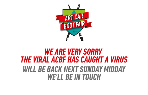 The Virtual Art Car Boot Fair | 2020