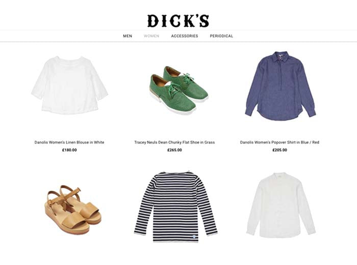Dick's Edinburgh | Tracey Neuls Shoes