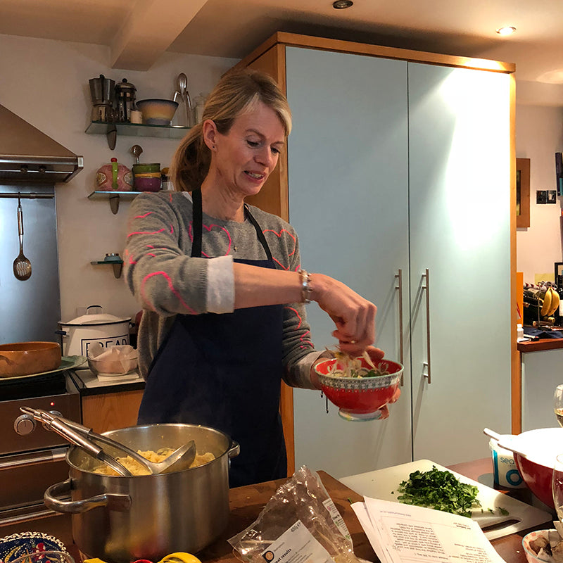 Feeding our Health | Cooking lessons with Alli Godbold