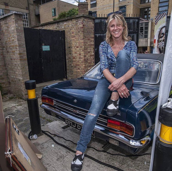 Karen Ashton - Founder of the Art Car Boot Fair