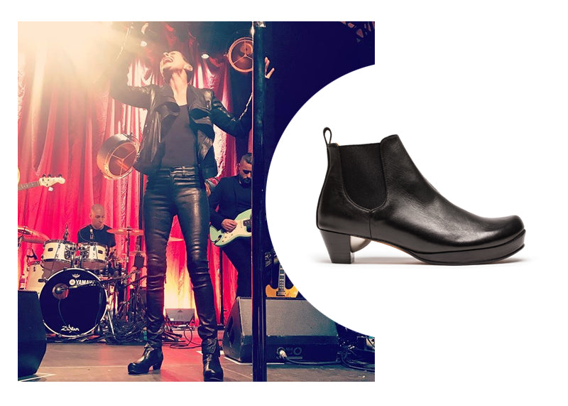 Pop Star Lisa Stansfield | Performing in Tracey Neuls shoes